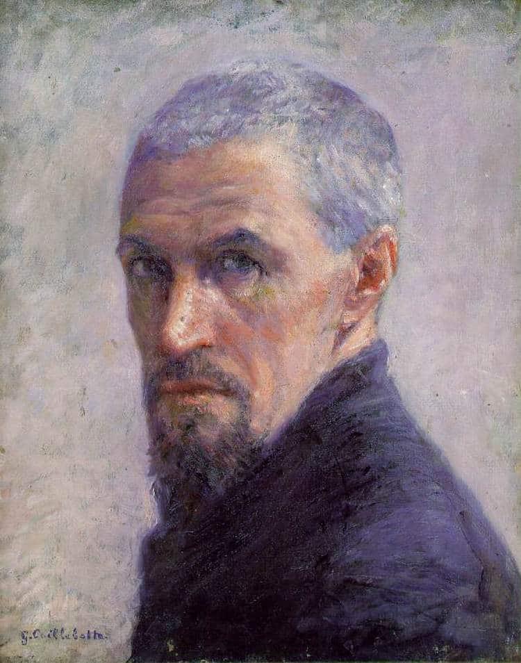 Gustave Caillebotte Self-Portrait