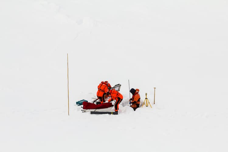Ice Core Sound John Andrew Higgins: