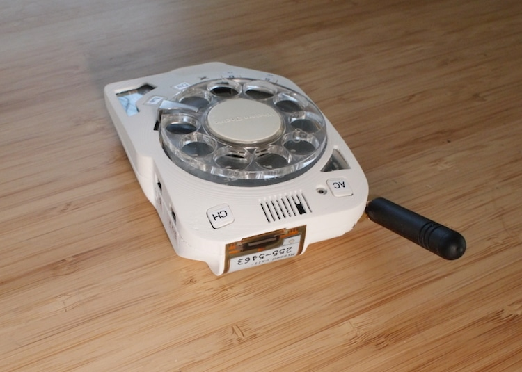 Justine Haupt Rotary Cell Phone