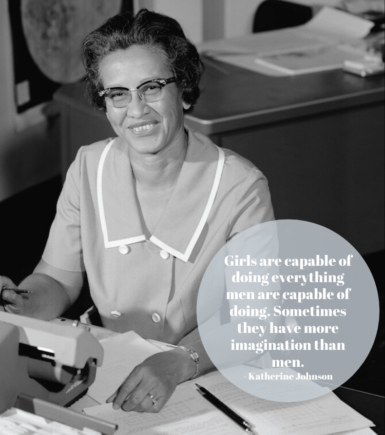 Katherine Johnson Quote