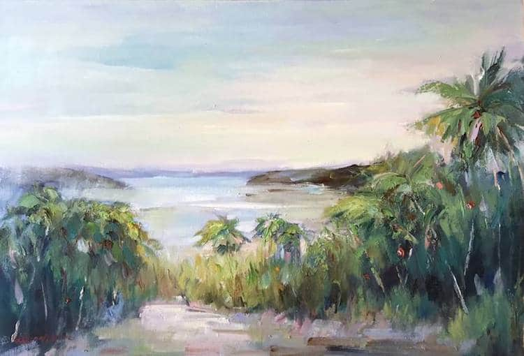 Liliana Gigovic Landscape Painting