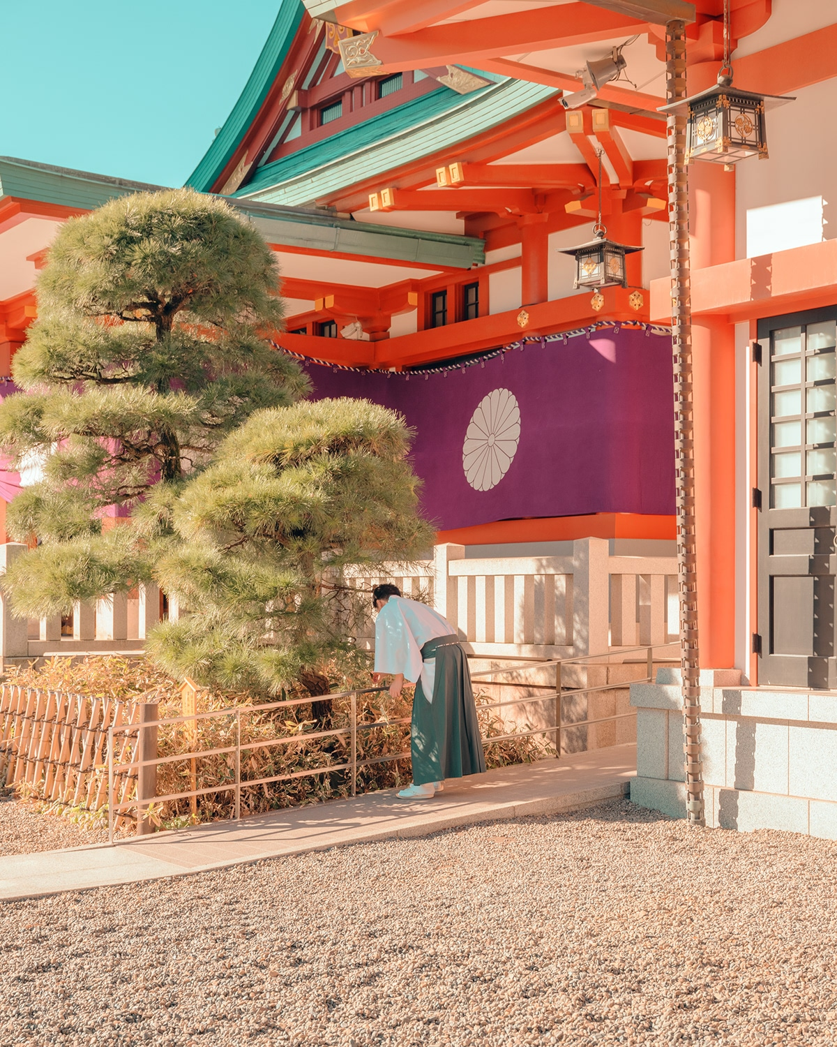 Temple in Tokyo