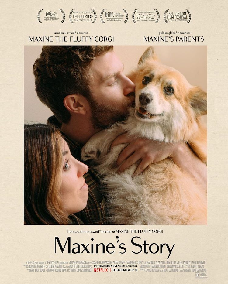 Cute Corgi Movie Poster