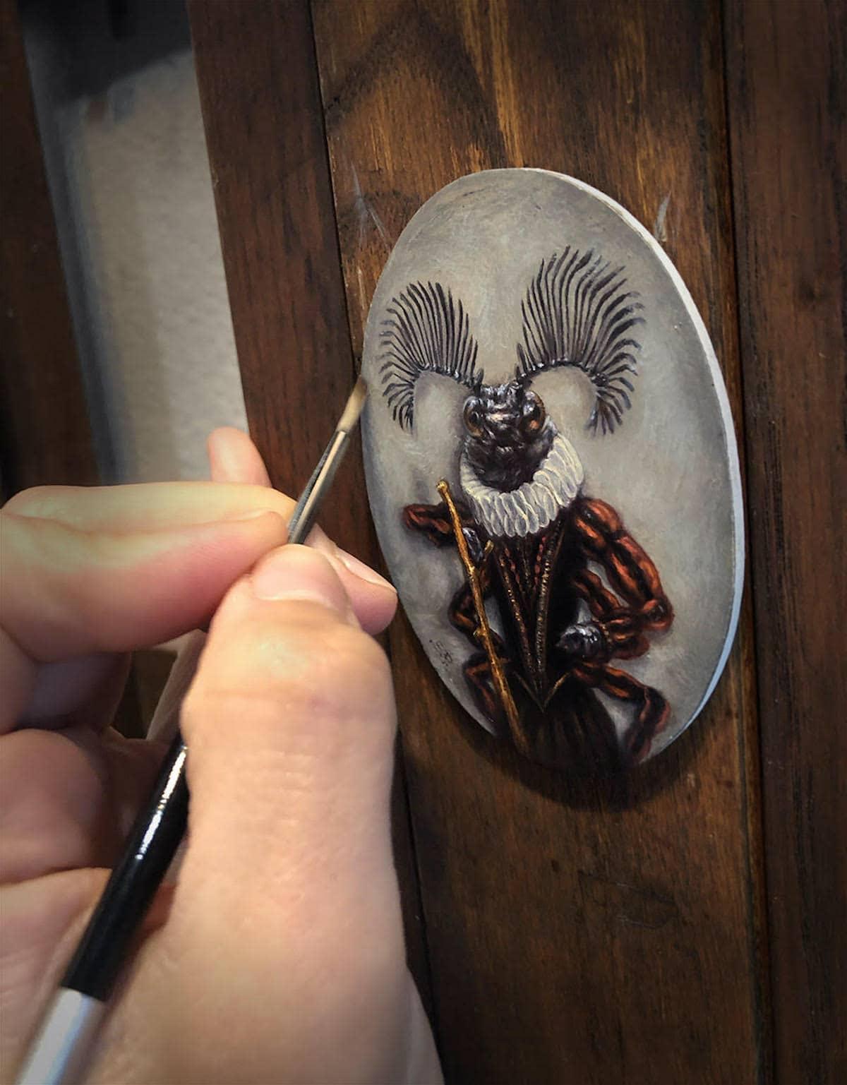 exposicion de arte miniatura