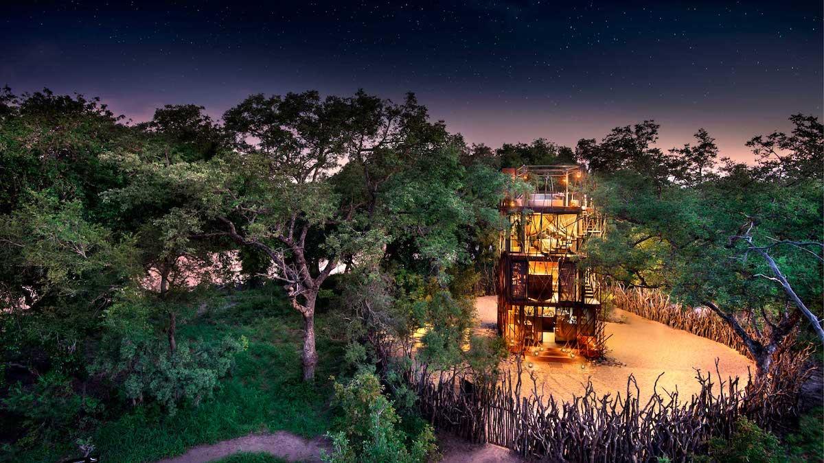 Ngala Treehouse Experience casa del arbol