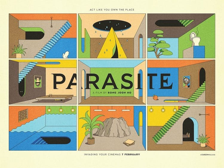 Parasite Alternative Film Poster