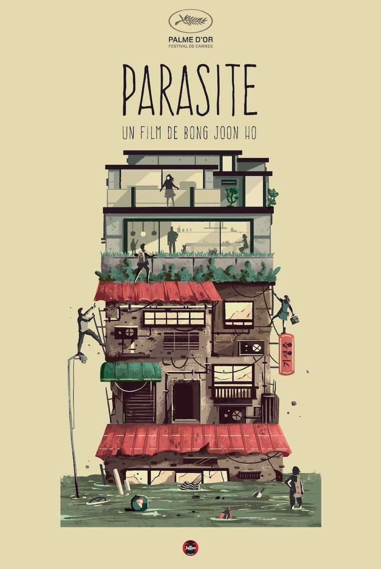 Póster alternativo de la película Parásitos