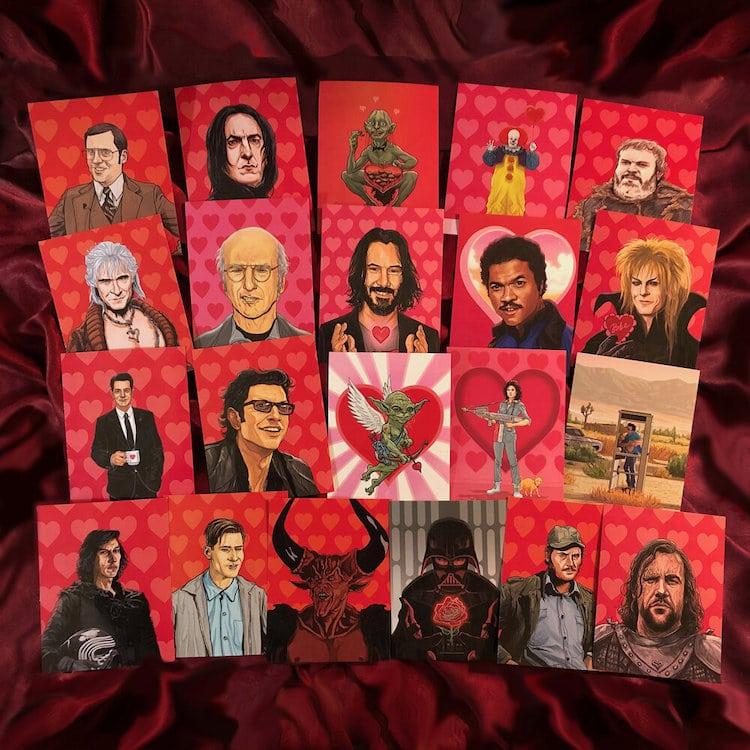 Geeky Valentine's Day Cards by PJ McQuade
