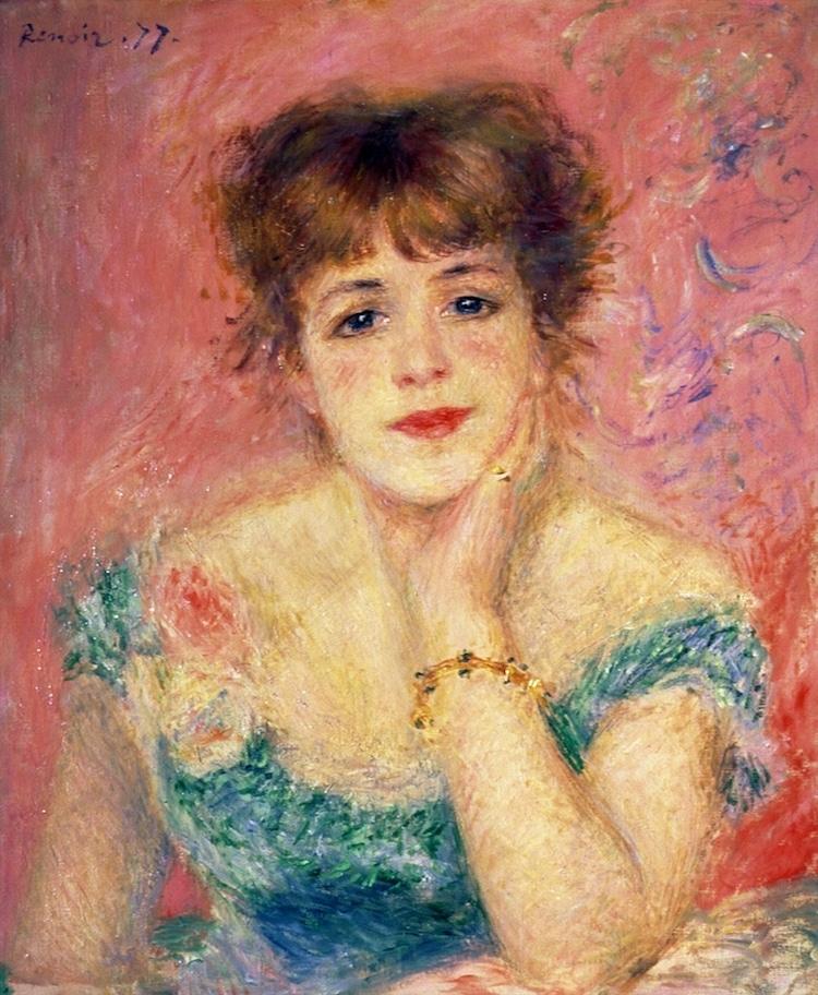Retrato de Renoir