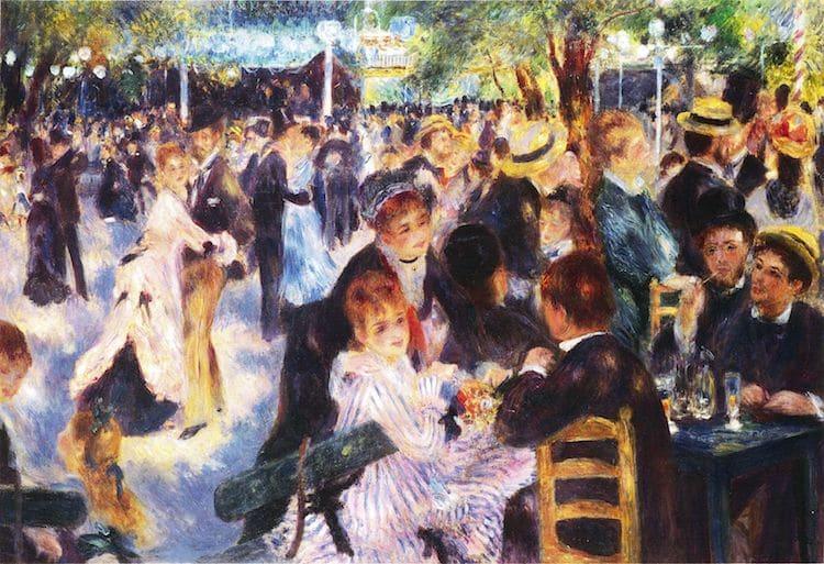 Baile en el Moulin de la Galette