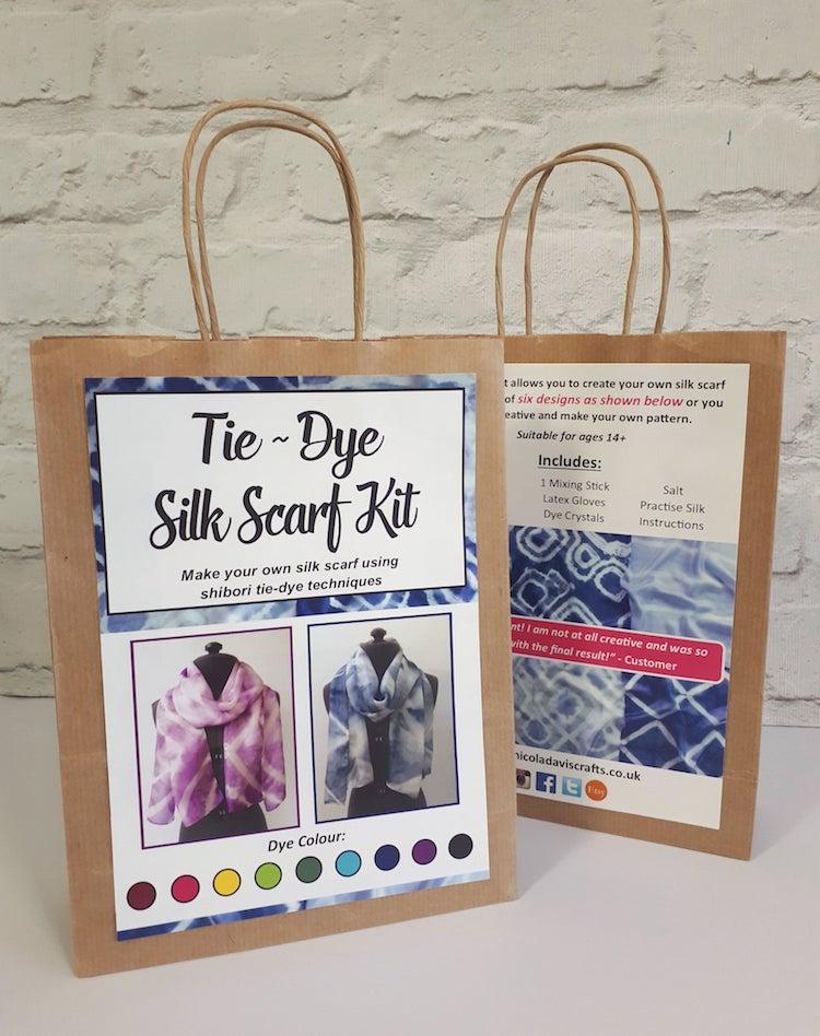 Shibori Scarf Kit
