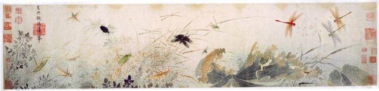 The History of Chinese Silk Painting