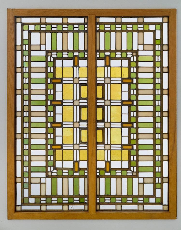 Frank Lloyd Wright ventana