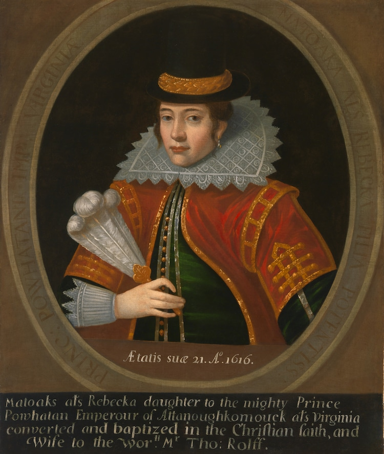 Pocahontas retrato