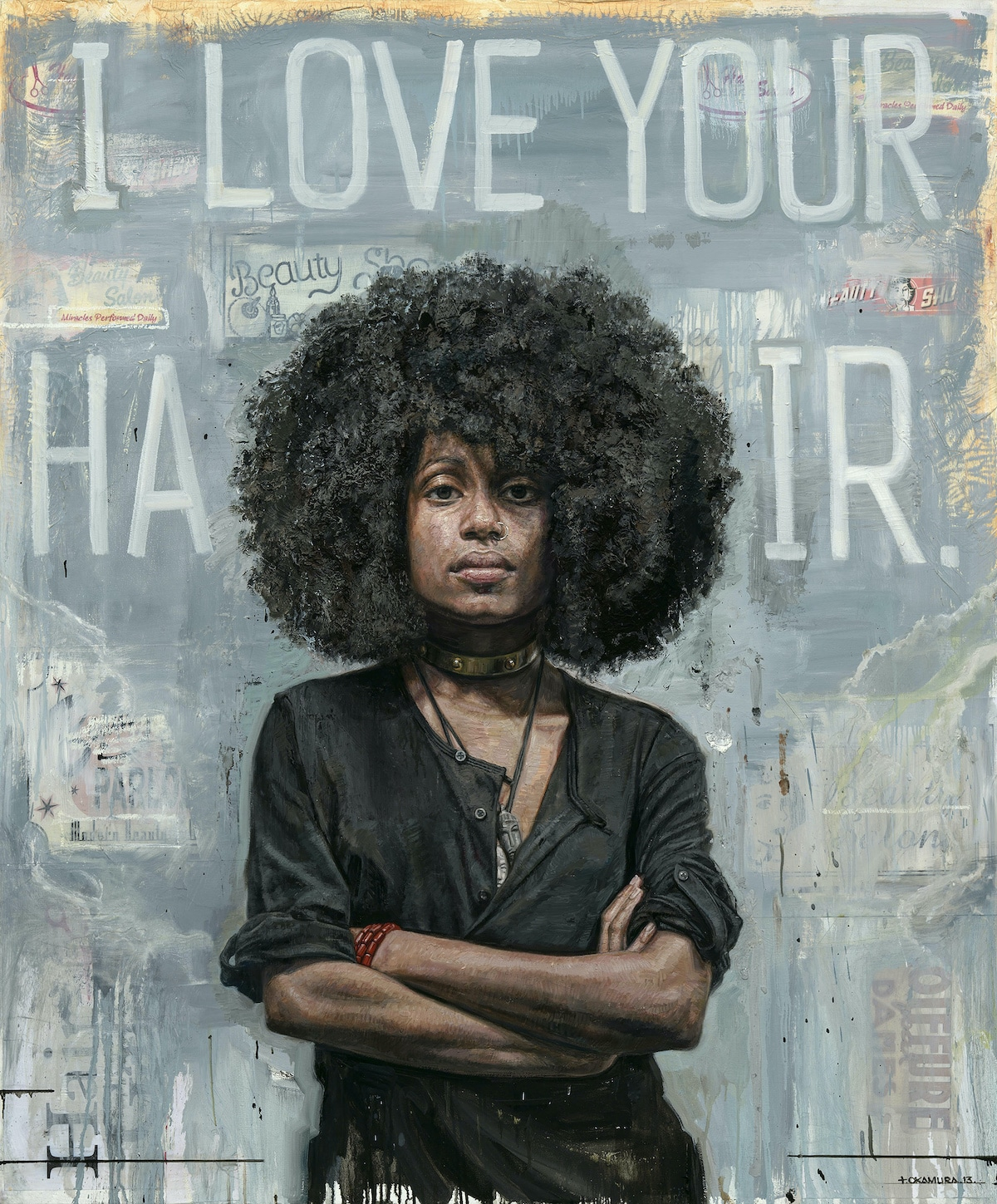 Portrait Oil Painting by Tim Okamura