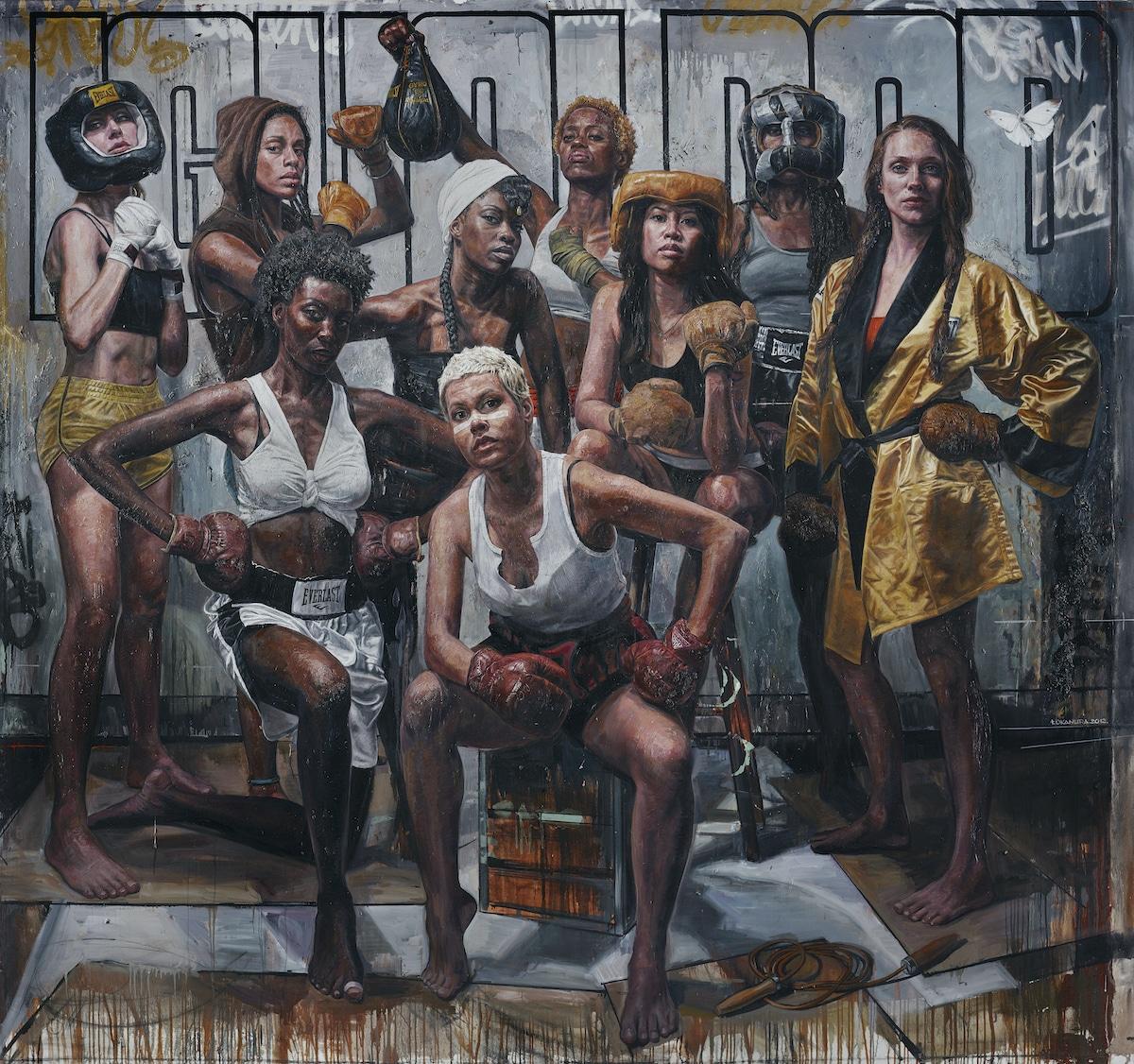 pinturas de mujeres