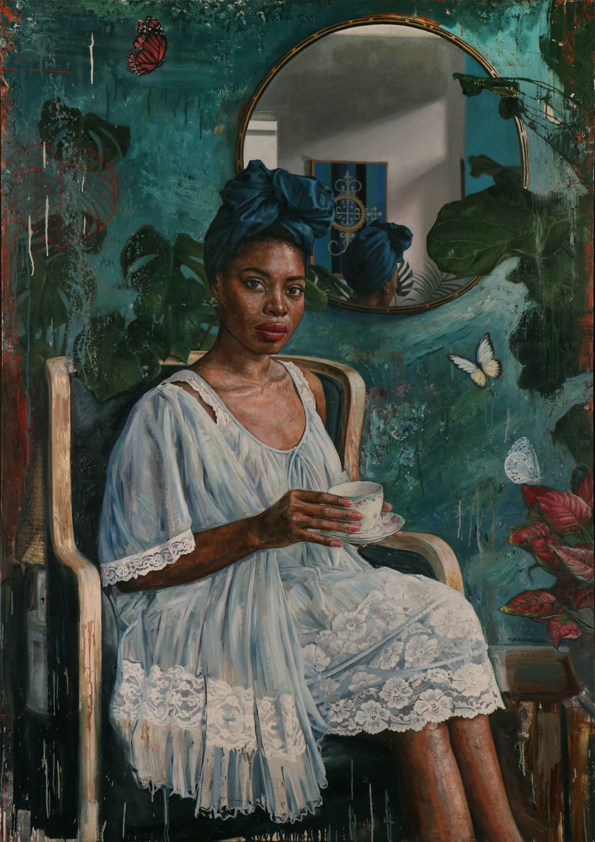 Portrait Painting by Tim Okamura