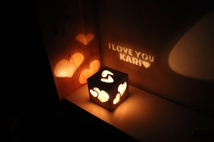 Lámpara del Día de San Valentín