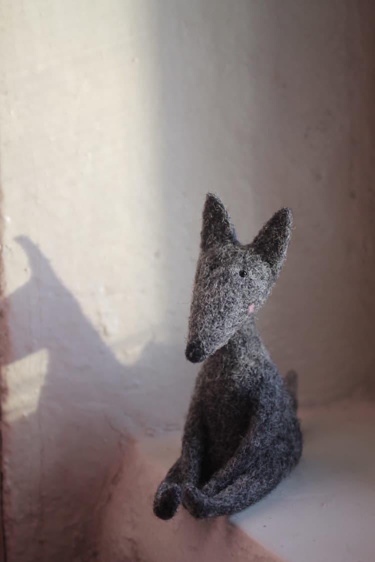 Wool Felt Creatures by Nastasya Shuljak
