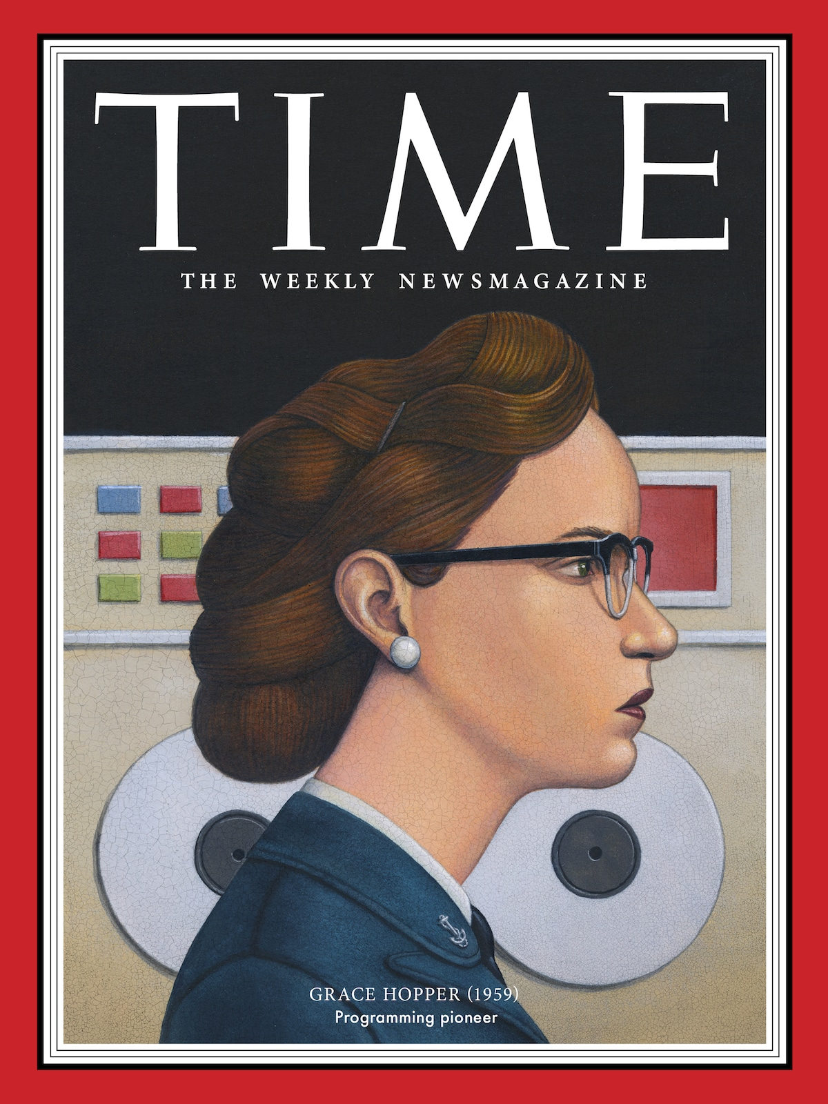 Grace Hopper Revista TIME - 100 Mujeres del Año