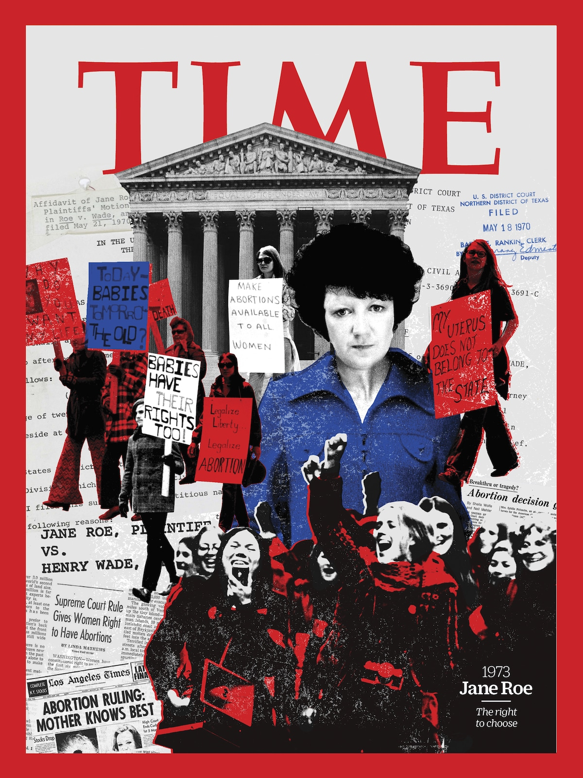 Jane Roe Revista TIME - 100 Mujeres del Año