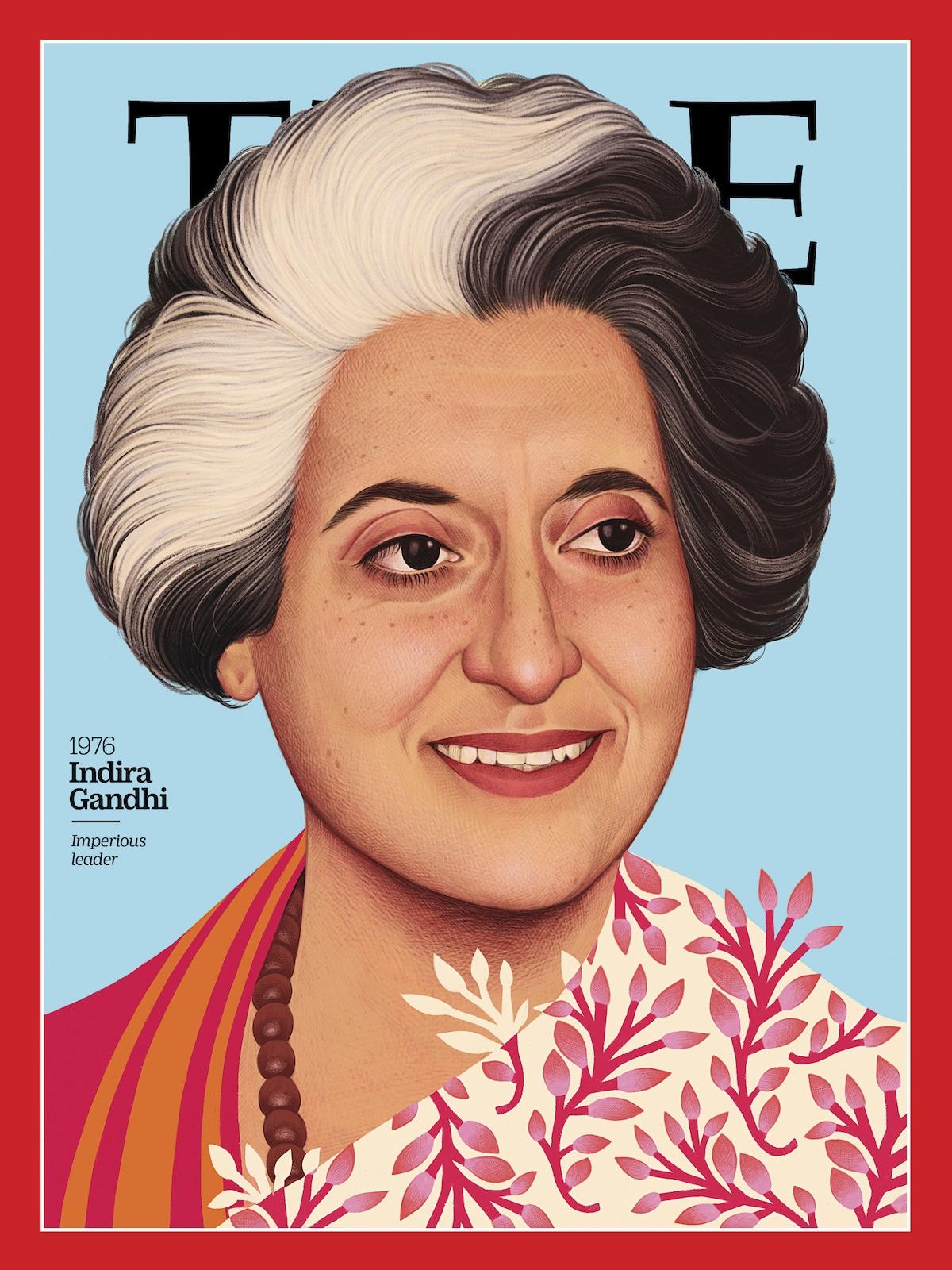 Indira Gandhi en la Revista TIME - 100 Mujeres del Año
