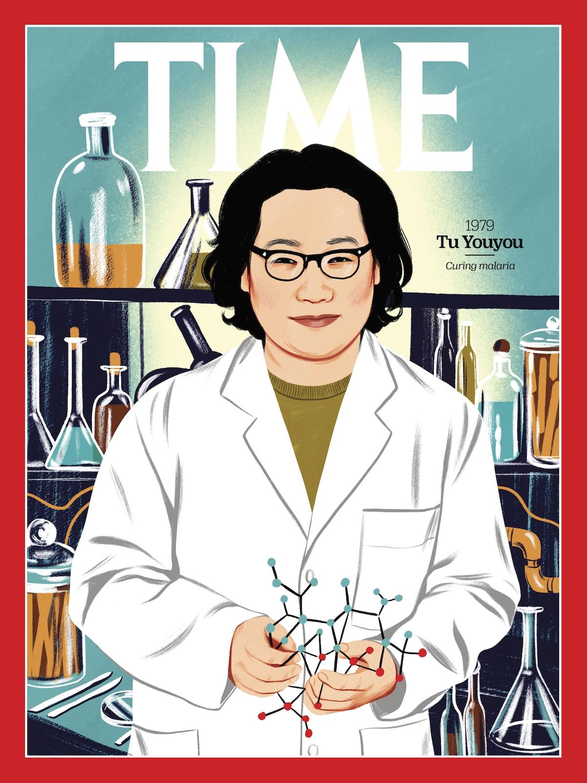 Tu Youyou TIME Magazine - 100 Women of the Year