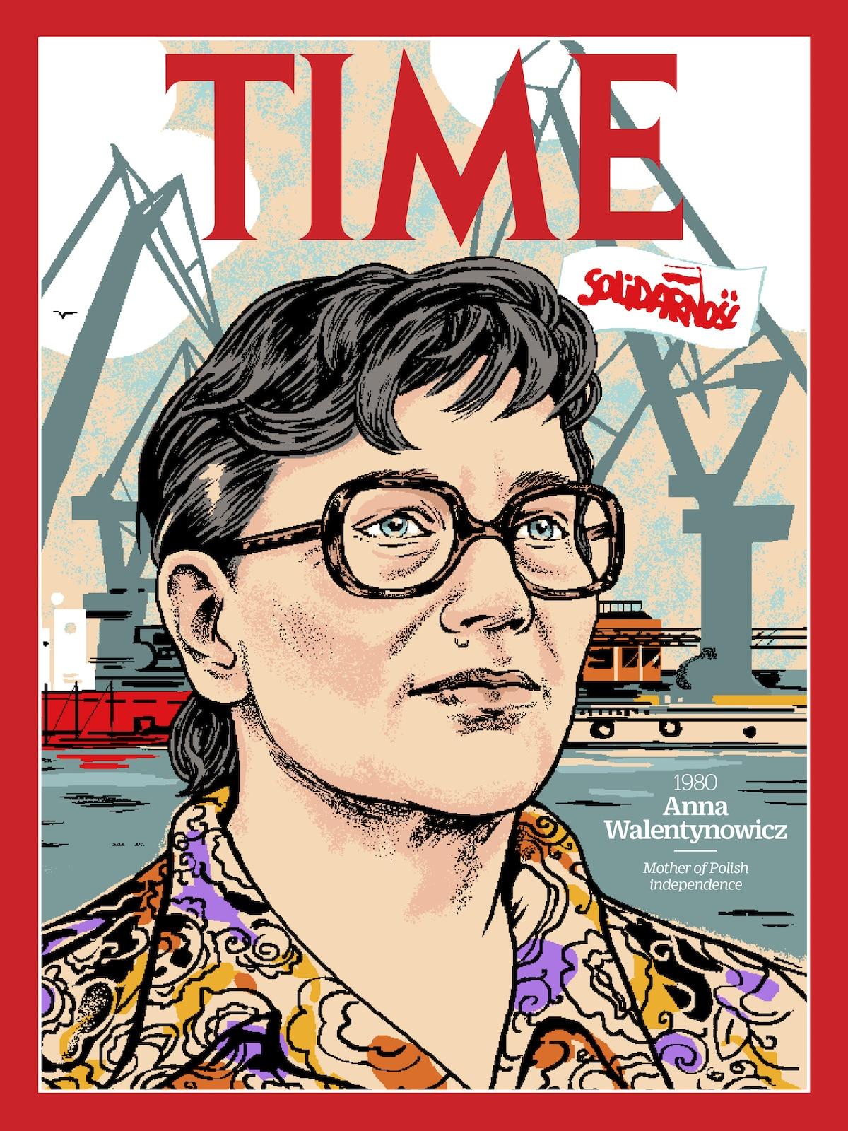 Anna Walentynowicz Revista TIME - 100 Mujeres del Año