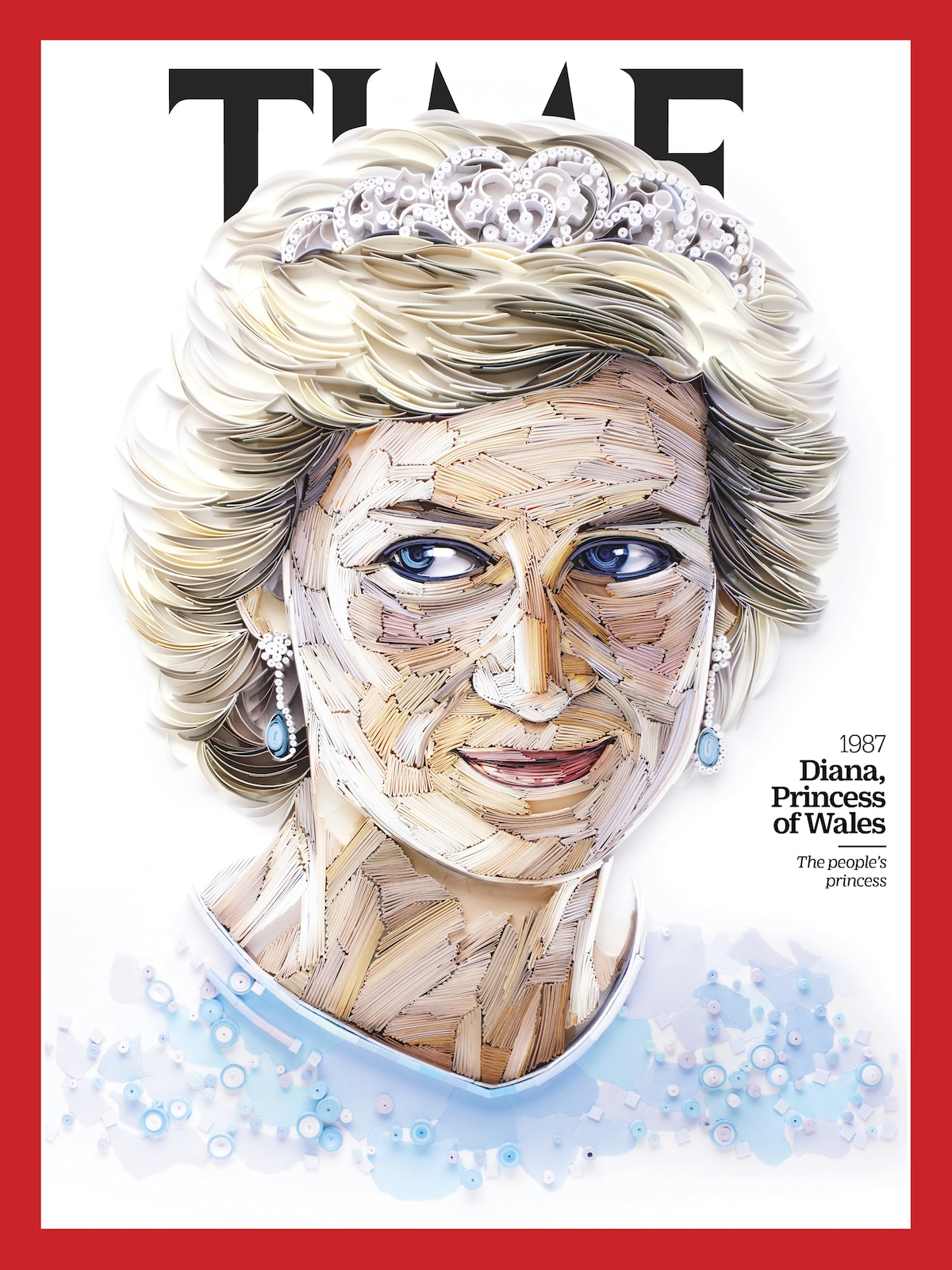 Portada del TIME de la princesa Diana