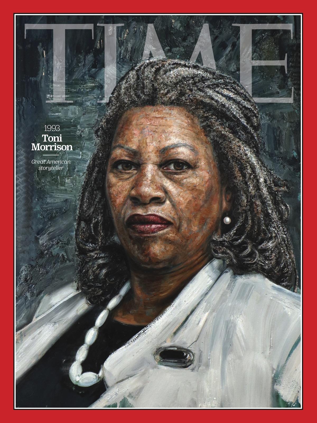 Toni Morrison Revista TIME - 100 Mujeres del Año