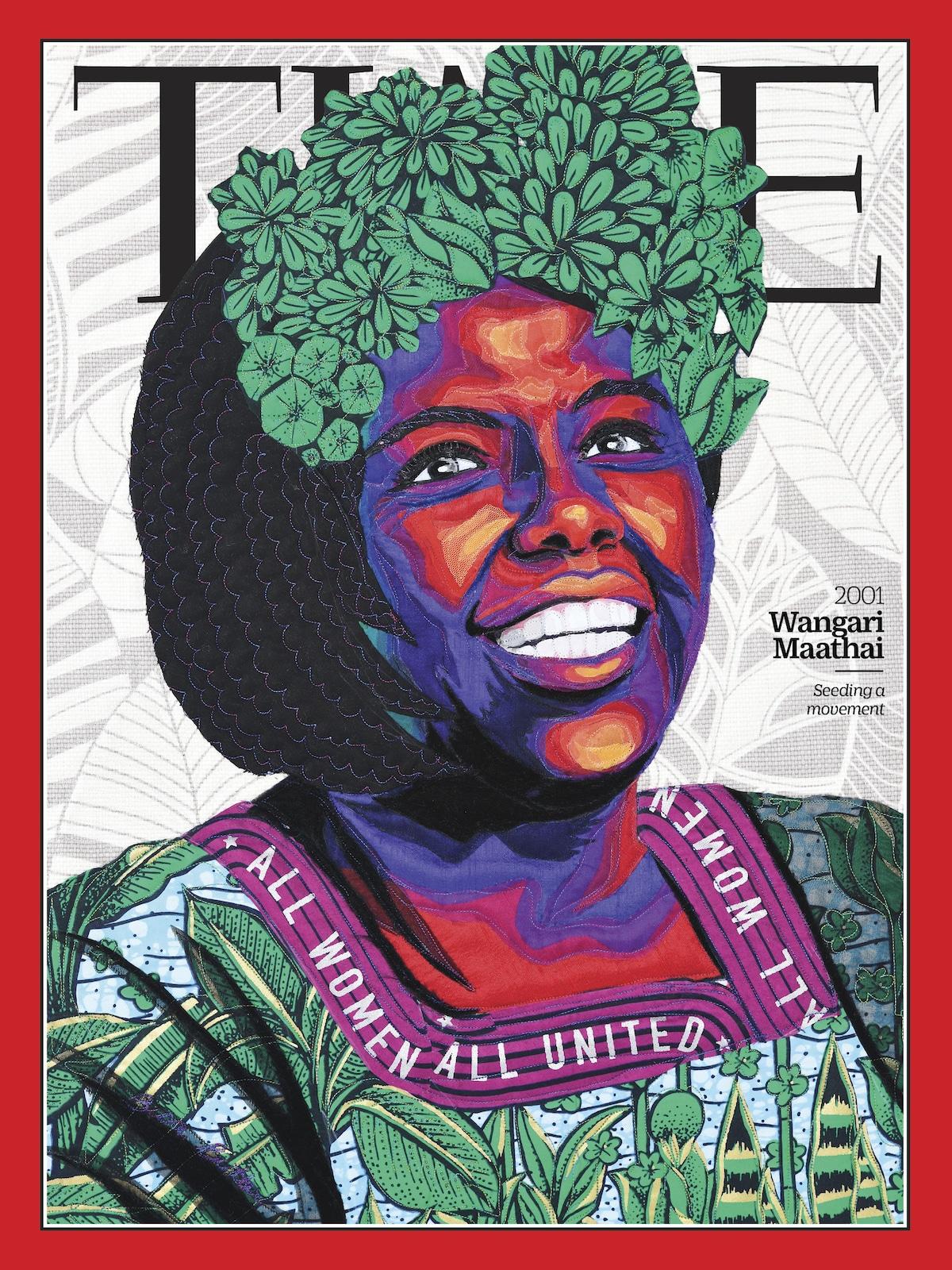 Wangari Maathai Revista TIME - 100 Mujeres del Año