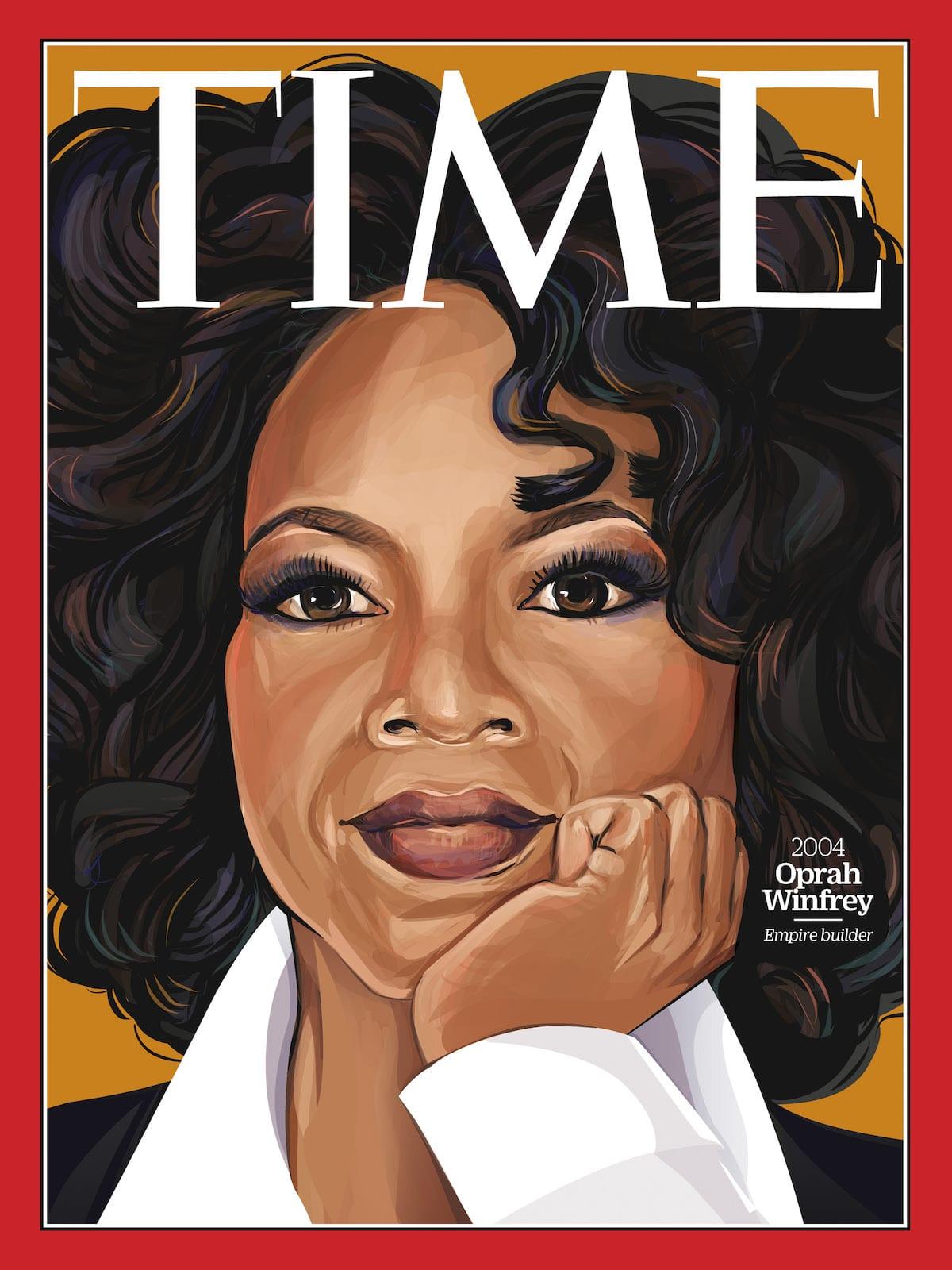 Oprah Winfrey TIME Magazine - 100 Women of the Year