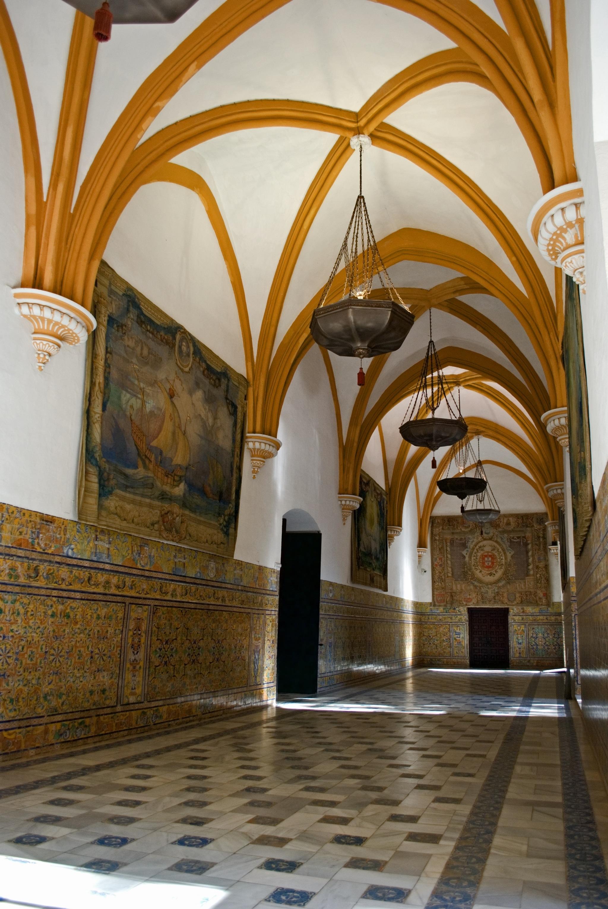 Sala de las Bóvedas en el Alcázar de Sevilla