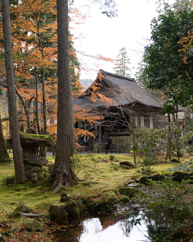Sanzenin Temple in Japan