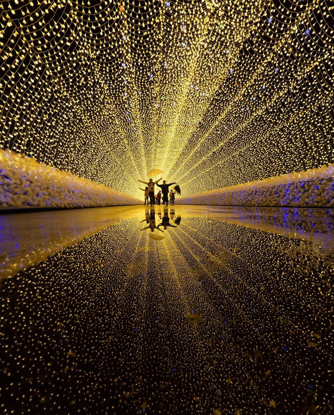 Tunnel of Light Art Installation