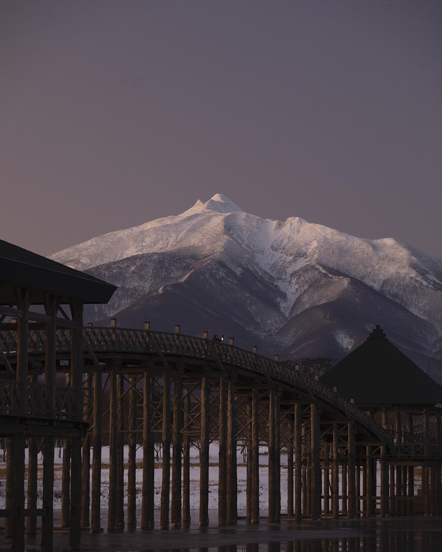 Tsuru-no-mai Bridge in Japan