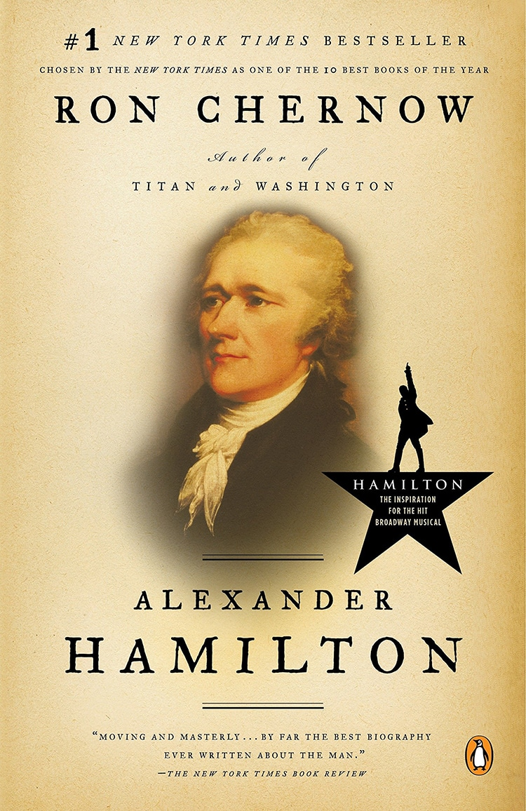 Cover of Alexander Hamilton by Ron Chernow
