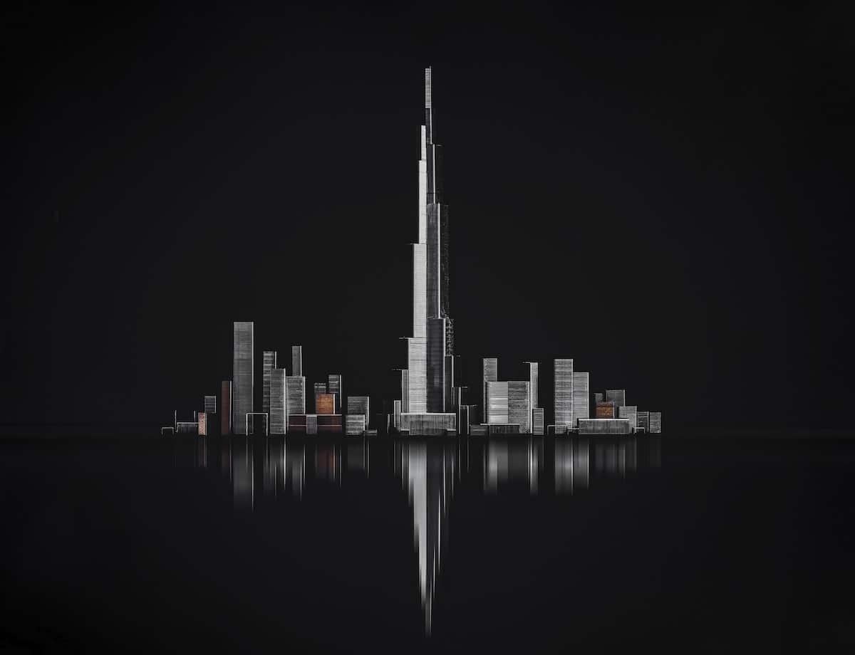 Paisaje urbano de Dubái