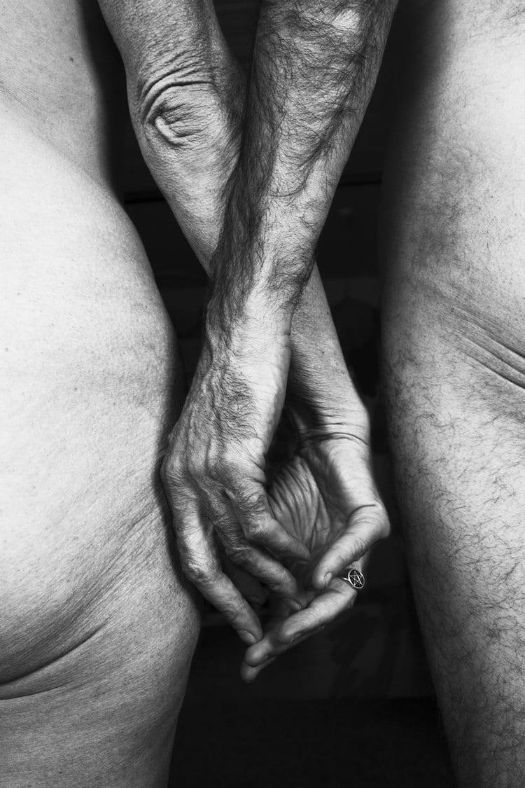 retratos intimos de adultos mayores