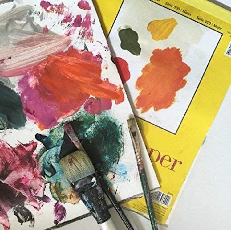 Palette of Paint