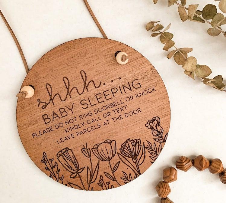 Do Not Disturb Baby Sign