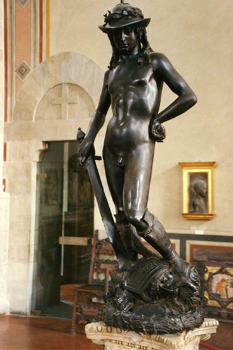 Donatello Bronze David Sculpture