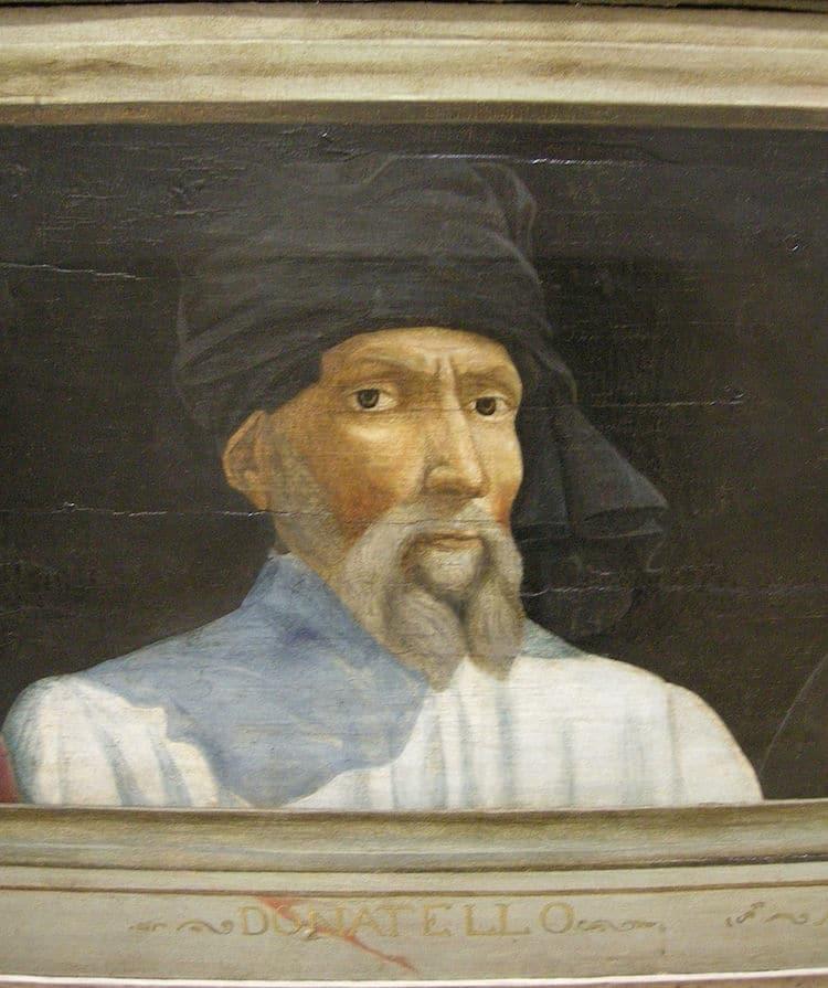 Donatello Portrait Painting