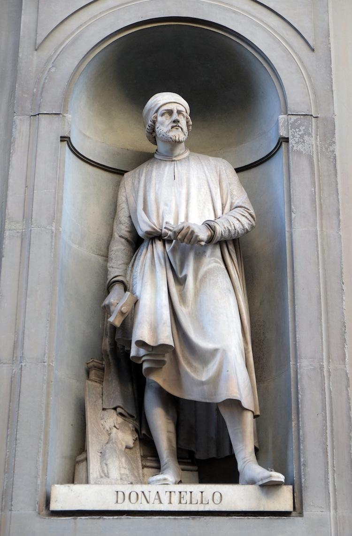 Donatello Portrait Statue
