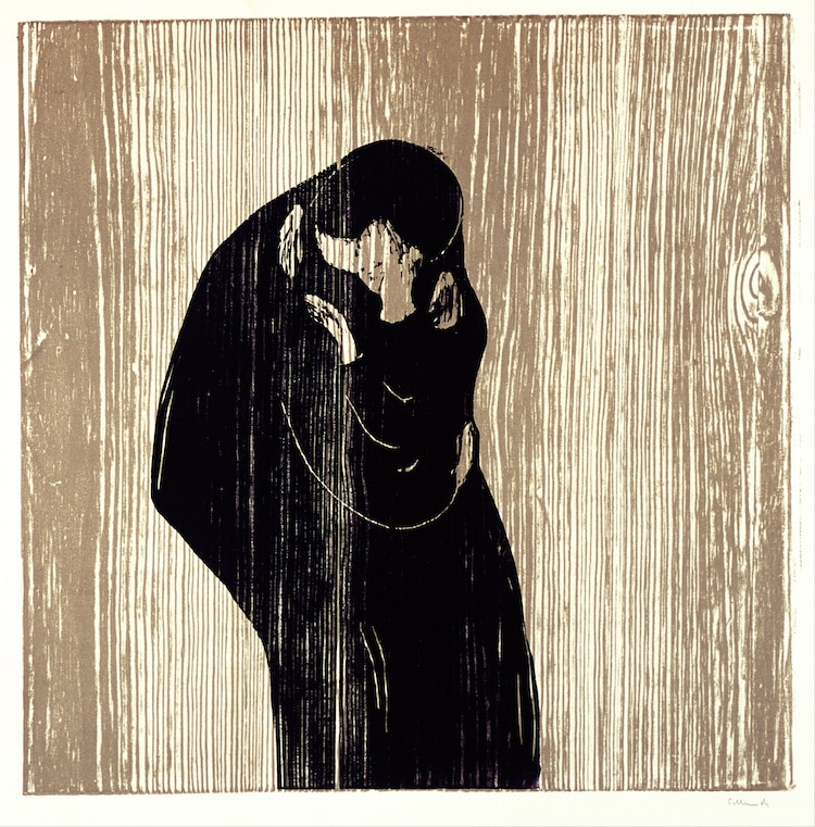 Woodcut by Edvard Munch