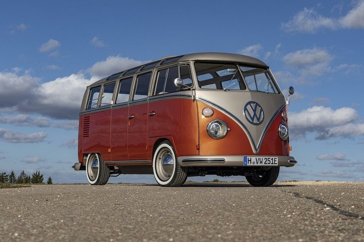 Electric VW Microbus
