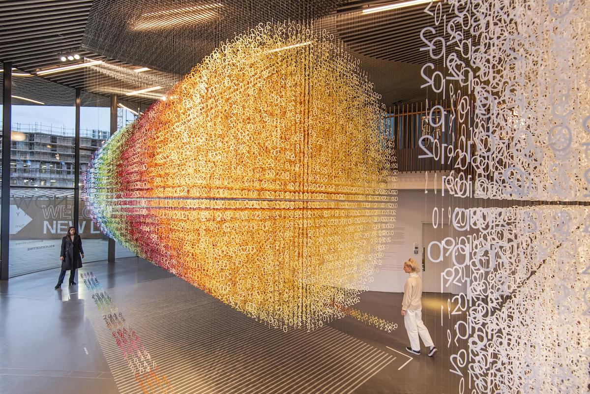 Contemporary Art Installation by Emmanuelle Moureaux