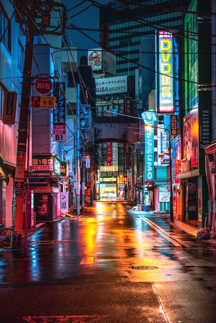 Akihabara Tokyo at Night