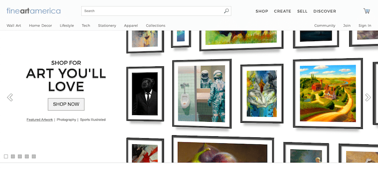 How To Sell Art Online We Ve Got 17 Websites To Help Sell Your Art
