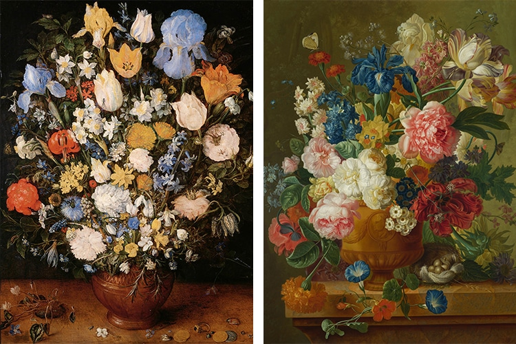 Flower Still Life Paintings